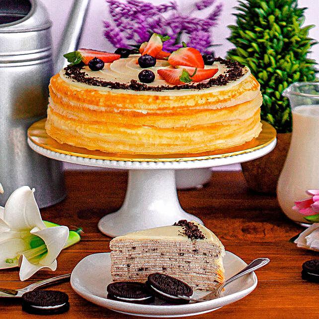 Liscious Oreo Crepe Cake