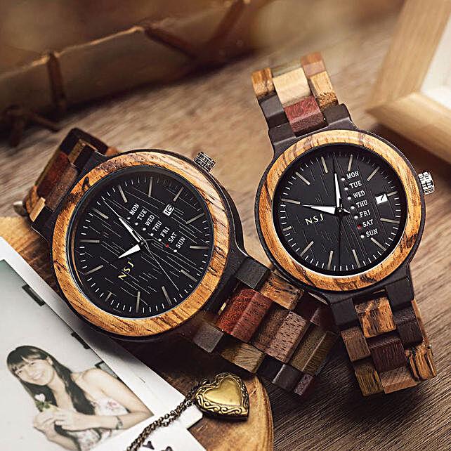 Premium Personalised Wooden Watch