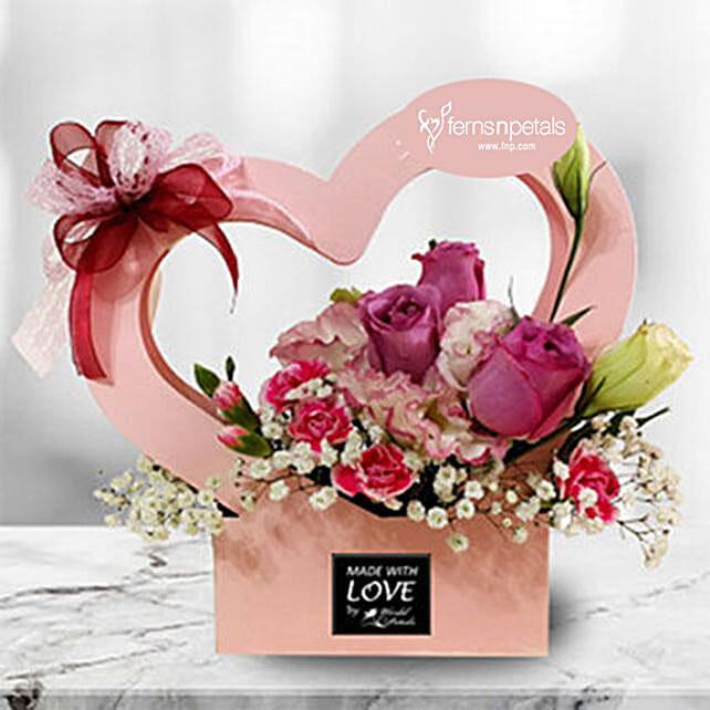 Spring Love Flower Box