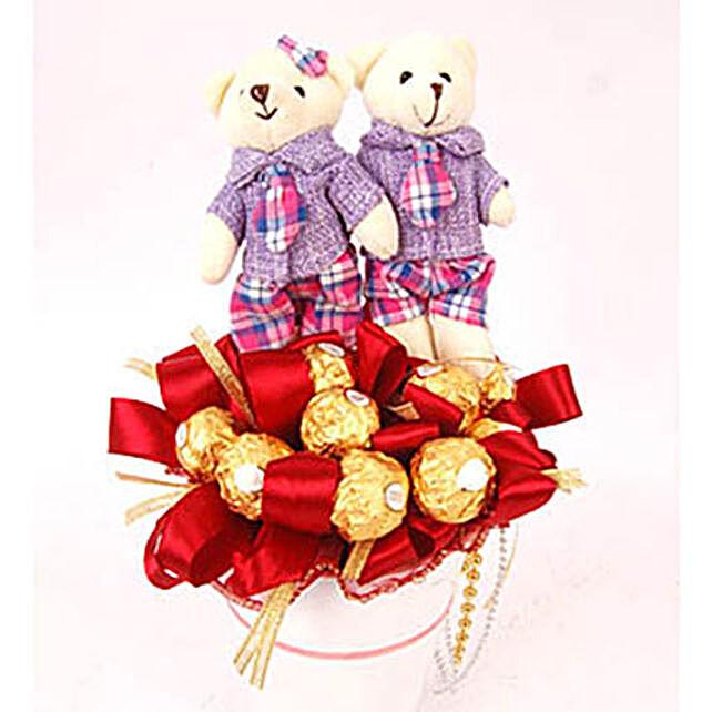 Sweet Bears And Chocolate
