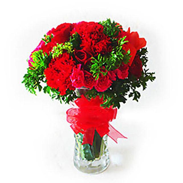 Thrilling Vase Of Flowers