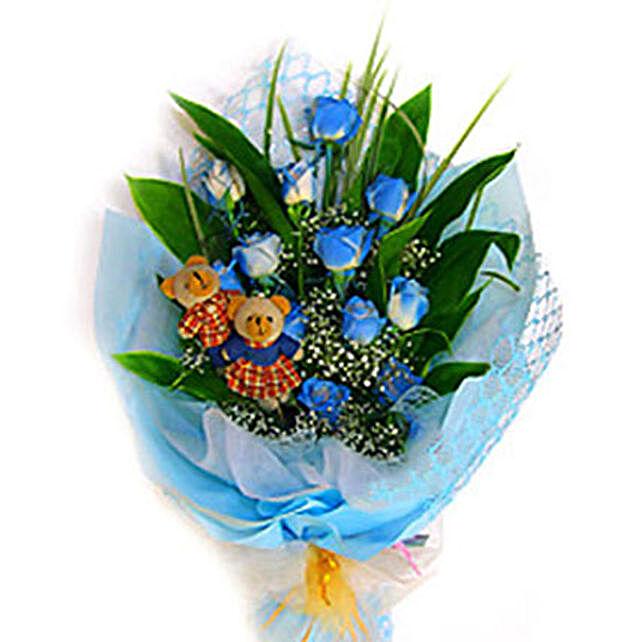 Blue Charming Bouquet