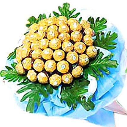 Golden Happiness Bouquet:Send Chocolate to Malaysia