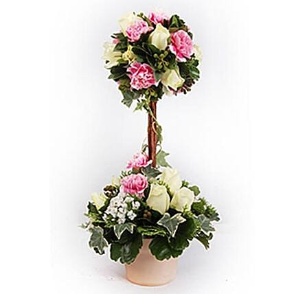 Bamberg Topiary Flowers For Christmas:Send mixed Flowers to Malaysia