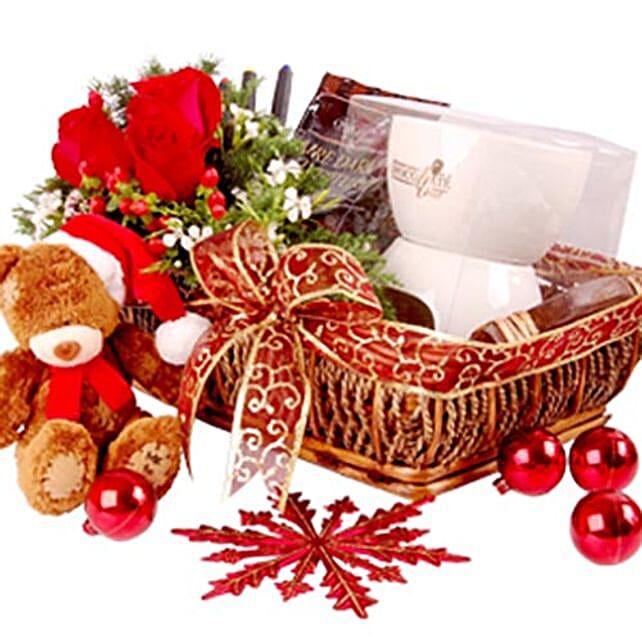Christmas Chocolate Fondue Set Gift