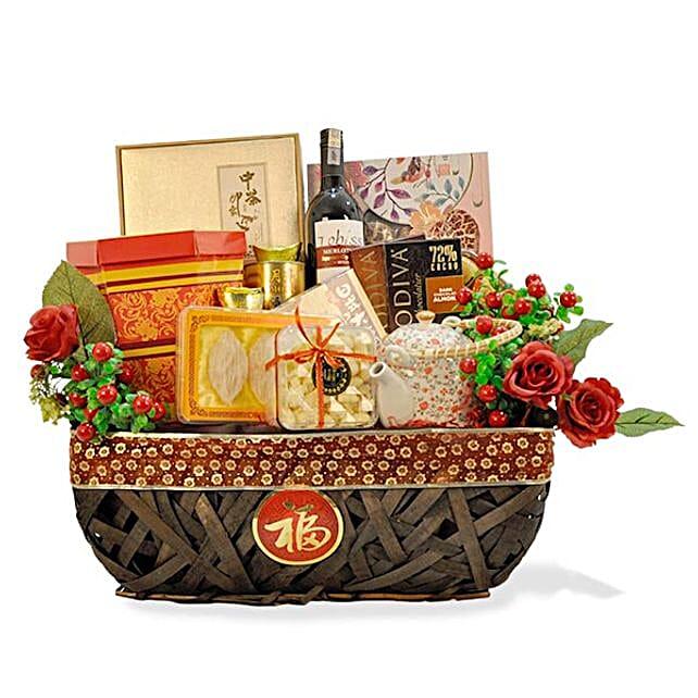 Chinese Festive Tea Gift Set