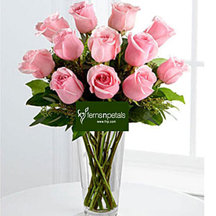 Best Wishes With Pink Roses:Mothers Day Gift Delivery in Malaysia