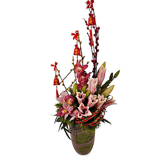 Fabulous Year Floral Arrangement