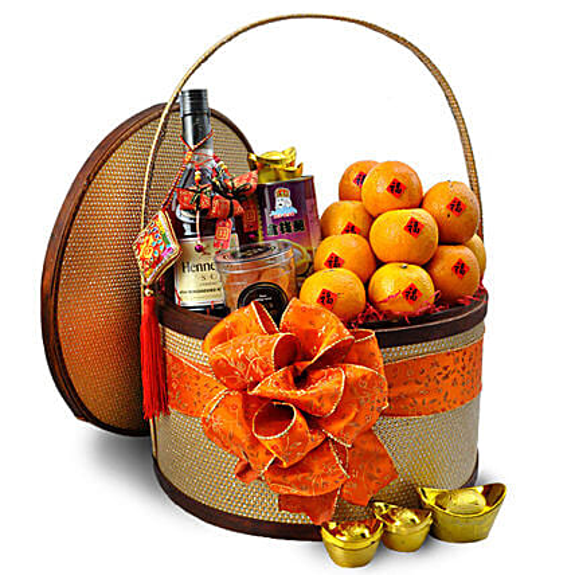 Glorious Spring Mandarin Oranges with Treats