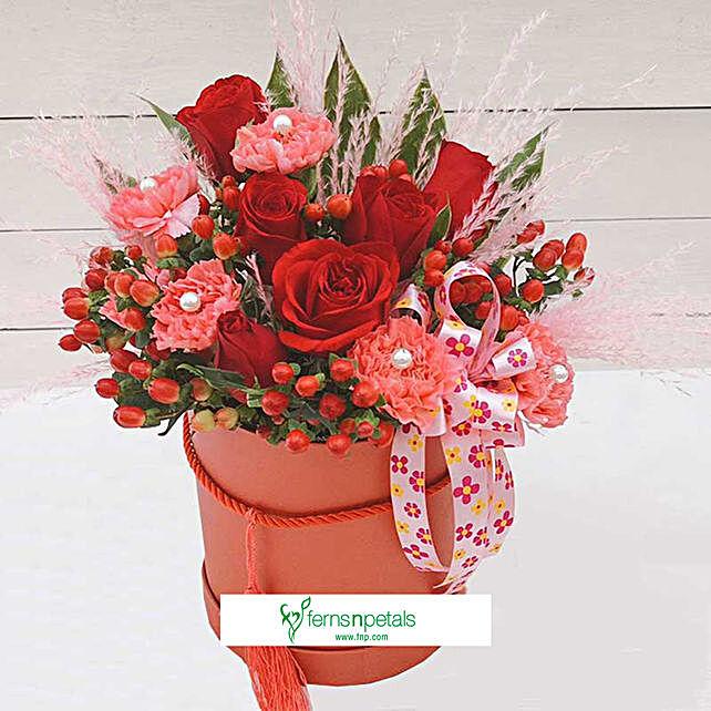 Orange Beauty Flower Box