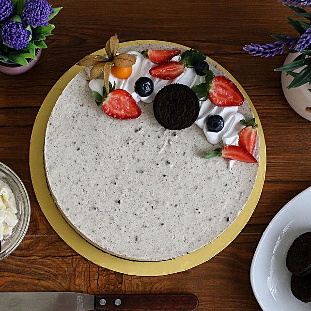 Tempting Oreo Cheesecake