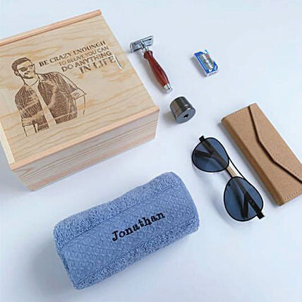 Personalised Gift Set For Him:Gifts for Husband to Malaysia