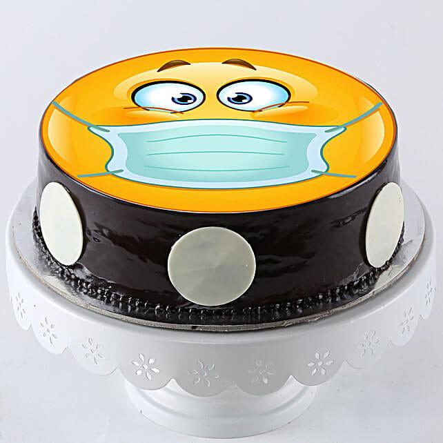 Stay Quarantine Chocolate Cake