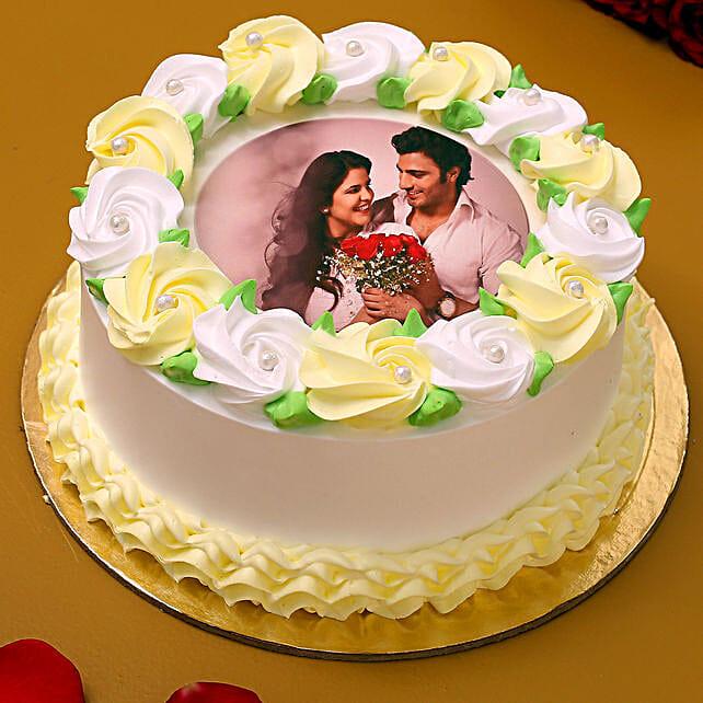 Loving You Photo Vanilla Cake 1.5 Kg