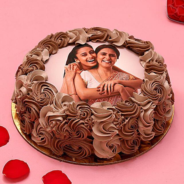 My Love Photo Chocolate Cake 1.5 Kg