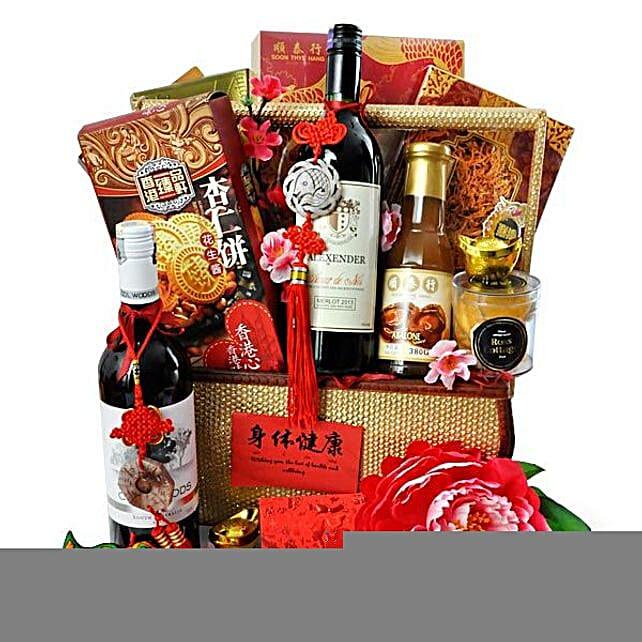 Chinese New Year Food Basket Hamper