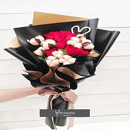 Lush and Lovely Bouquet Hamper