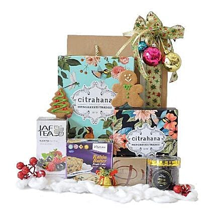 Colorful Christmas Hamper:All Gifts