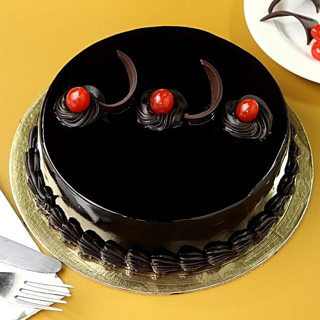 Chocolate Truffle Delicious Cake:Send Birthday Cakes to Malaysia