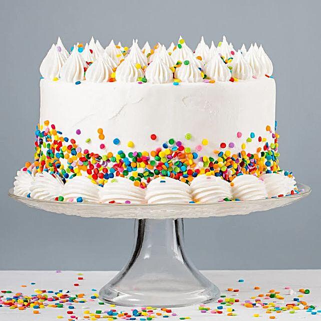 Vanilla Buttercream Cake:Order Birthday Cakes to Malaysia