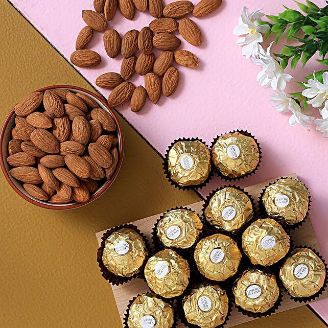 Ferrero Rocher And Almonds Combo