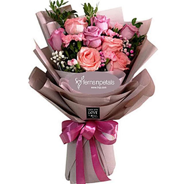 Velvet Rose Bouquet