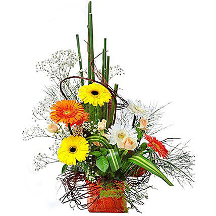 Colorful Greetings:Bouquet Delivery in Mauritius