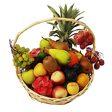 Seasonal Fruit Basket:Get Well Soon Gift Delivery Mauritius