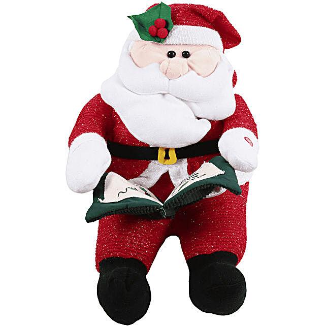 Cute Santa Soft Toy