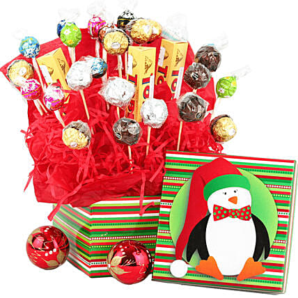 Gourmet Chocolate Gift Basket:Gifts to Mexico