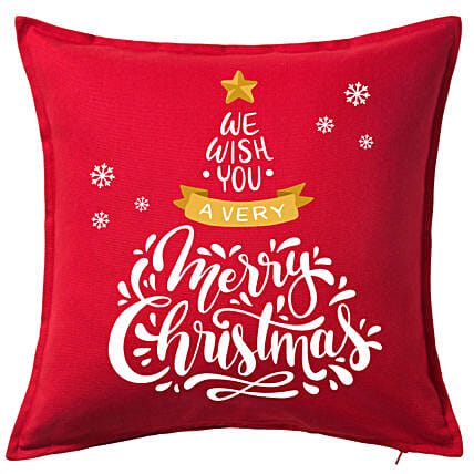 Xmas Greetings Cushion Mug