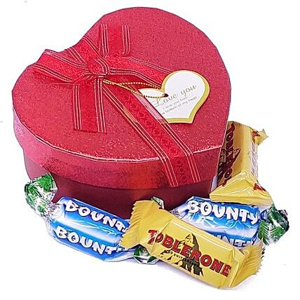 Assorted Miniature Chocolates Box:Gifts Delivery to Nepal