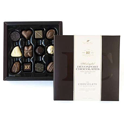 Box Of 12 Devonport Chocolates:Send Romantic Gifts to New Zealand