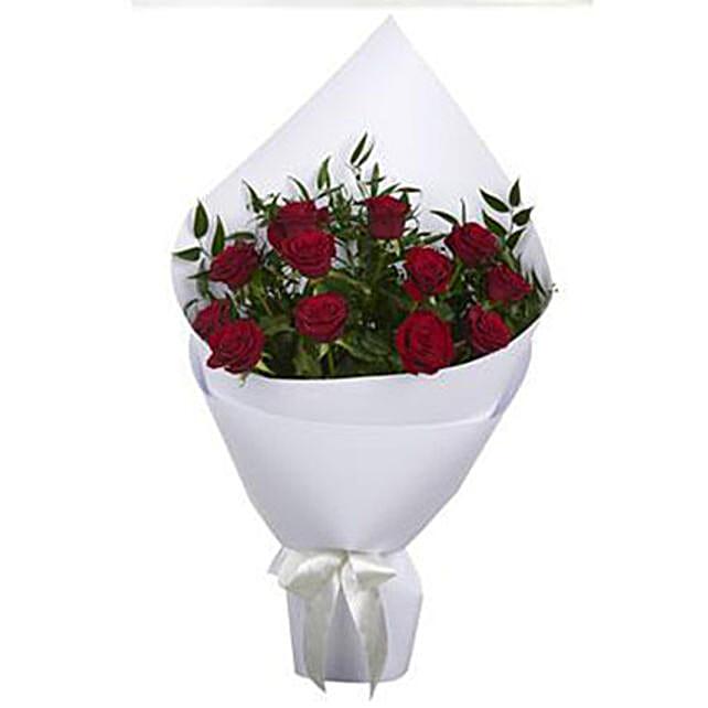 Crimson Red Roses