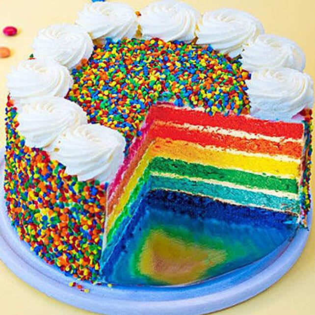 Deluxe Rainbow cake