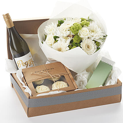 Peggy White N Ecoya Gift Hamper:Send Anniversary Gifts To New Zealand