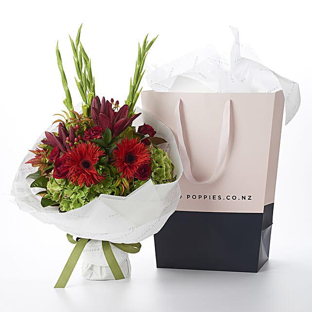 Stunning Red Jasper Bouquet