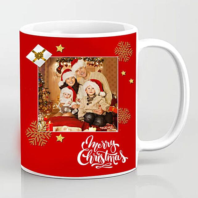 Personalised Xmas Greetings Mug