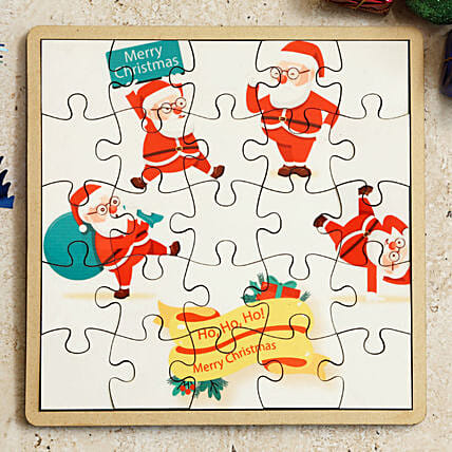 xmas theme puzzle online