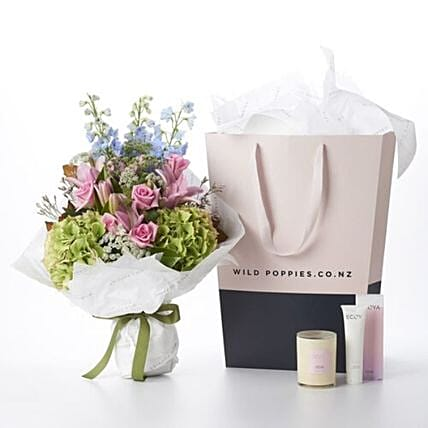Pink Ruby And Ecoya Gift Set:Easter Gifts to New Zealand