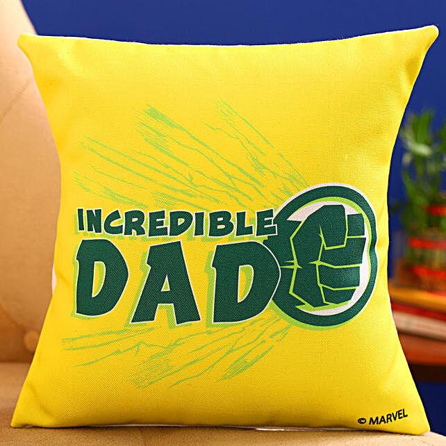 Marvel Incredible Dad Printed Cushion