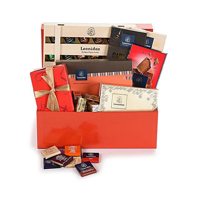 Leonidas Chocolate Hamper:Gifts to Norway