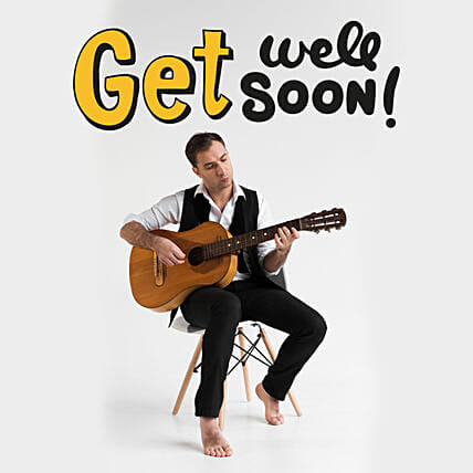 Get Well Soon Tunes:Guitarist On Video Call In Oman