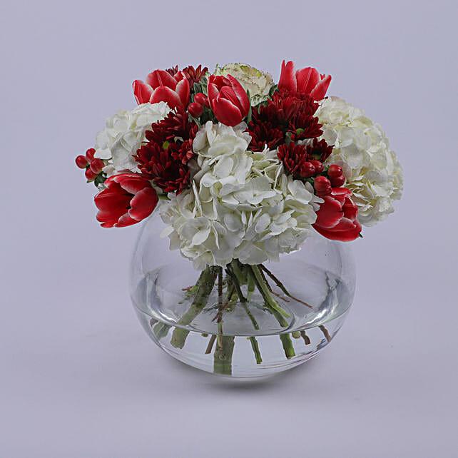 Floral Bowl Of Eternal Love