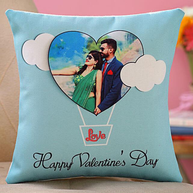 valentine day printed cushion for boyfriend