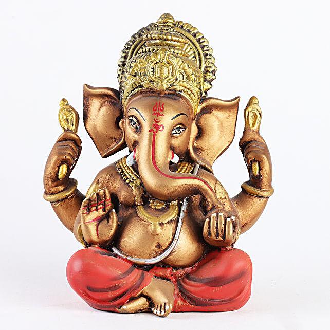 Brown Ganesha Idol:Send Gifts to Oman