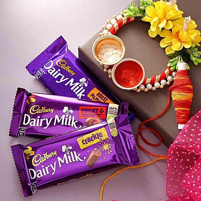 Bhai Dooj Chocolates With Teeka:Oman Gift Delivery