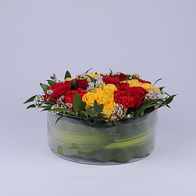 Vibrant Floral Wish:Send Flower Bouquet to Oman