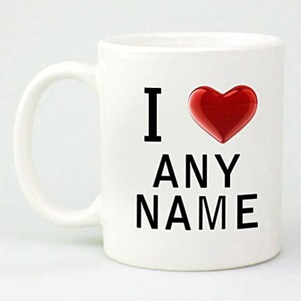 Love Special Personalized Mug