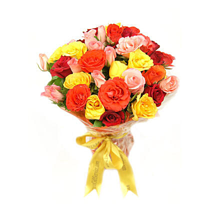 Sunset Roses Bouquet:Gift Delivery in Pakistan